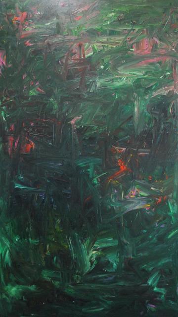 MD Tokon, 'Untitled Green and Red', 2018, Isabella Garrucho Fine Art