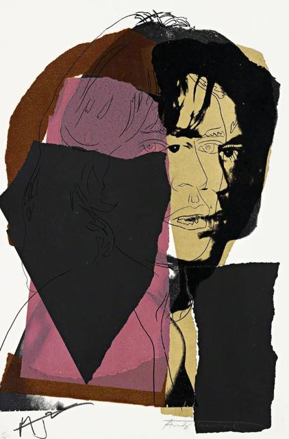 , 'Mick Jagger (FS II.139),' 1975, Gormleys Fine Art