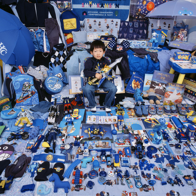 , 'Kihun and His Blue Things,' 2007, Rosier Gallery