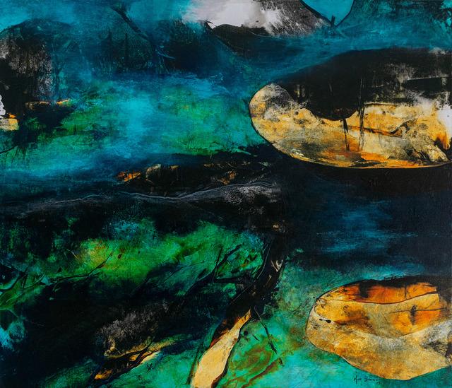 kim bennani, 'Untitled', 2020, Mixed Media, Mixed media on canvas, Loft Art Gallery