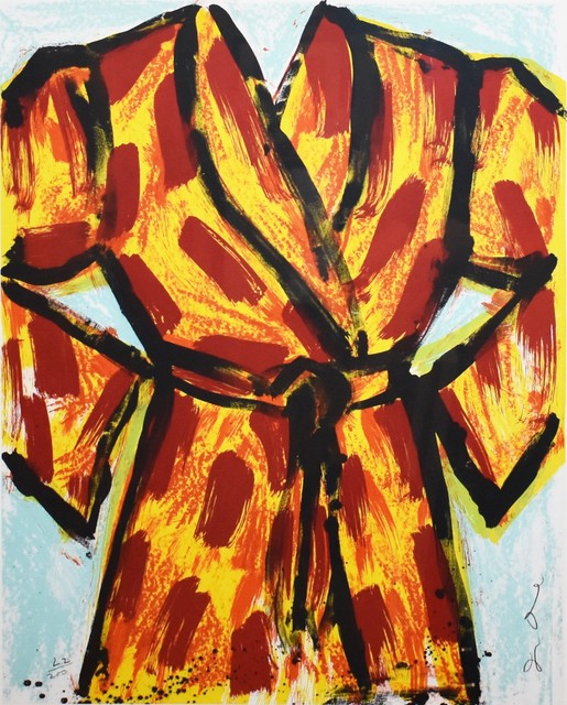 Jim Dine, 'Black Ink Robe', 2005, Georgetown Frame Shoppe