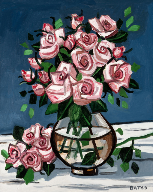 , 'Pink Roses,' 2016, Arthur Roger Gallery
