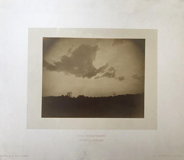, 'Vues instantanées, Effets de nuages,' 1874, SERGE PLANTUREUX