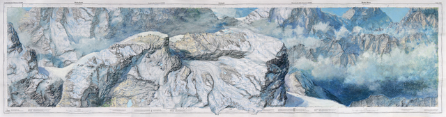 , 'Matterhorn Zermatt Monte Moro,' 2013-2015, MARCdePUECHREDON