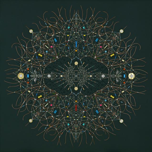 Leonardo Ulian, 'Technological Mandala #122 - itself radial', 2019, The Flat - Massimo Carasi