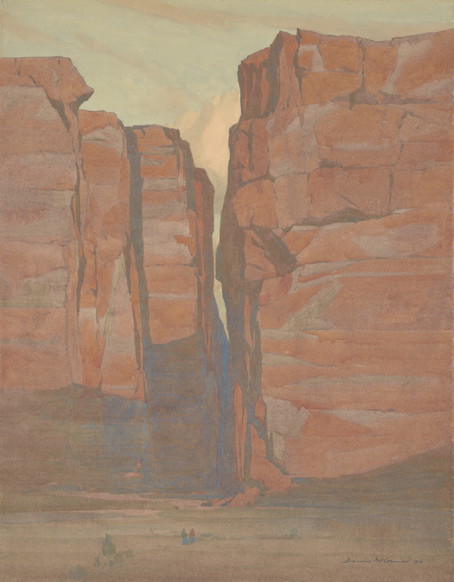 , 'Navajo Gateway, Arizona,' 1914, de Young Museum