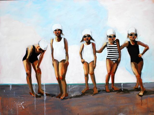 , 'Swim #2,' 2010-2018, Eisenhauer Gallery