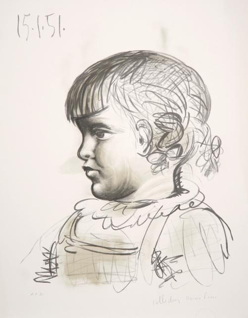 Pablo Picasso, 'Portrait d'Enfant, 1951', 1979-1982, Print, Lithograph on Arches paper, RoGallery
