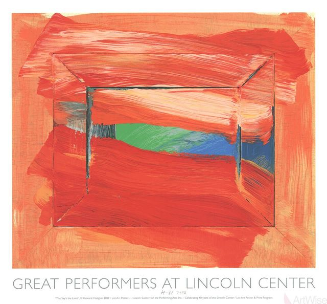 Howard Hodgkin, 'The Sky's The Limit', 2002, Posters, Silkscreen, ArtWise