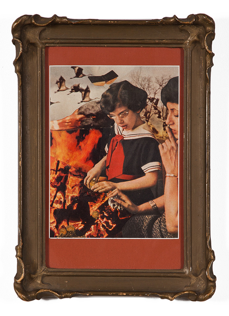 Jess, 'Untitled (Girl with Geese)', 1955, Kohn Gallery