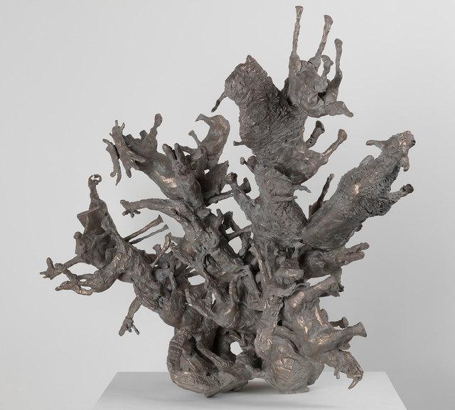Nancy Rubins, 'Diversifolia #1', 2017, Sculpture, Bronze, Gagosian
