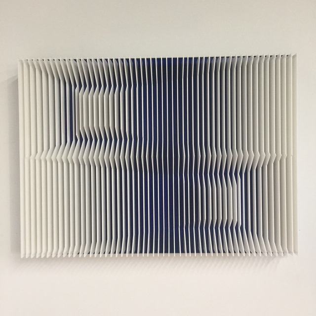 , 'Cross perspectives Transblue,' 2016, Contempop Gallery