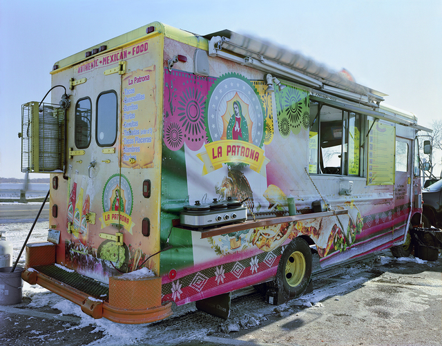 , 'La Patrona Taco Truck, Long Wharf, New Haven, Connecticut,' 2015, Robert Klein Gallery