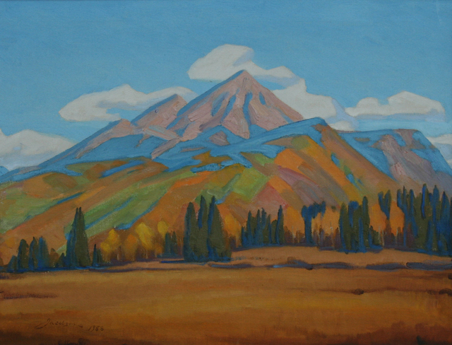 , 'Engineer Mountain,' 1958, JRB Art at The Elms