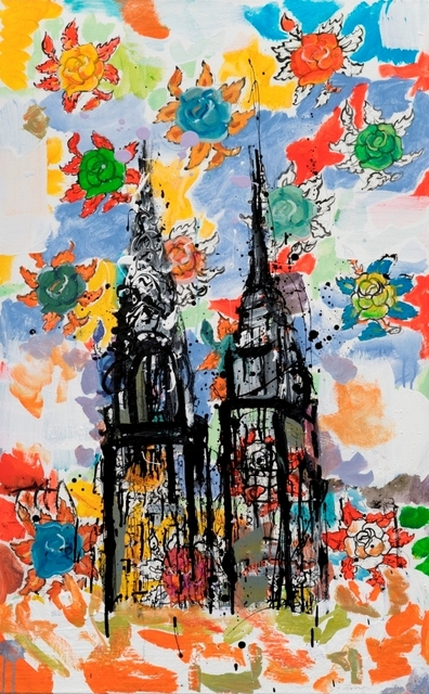 , 'Night Whispers Away, The City Awakes. ,' 2016, Galerie Barbara von Stechow