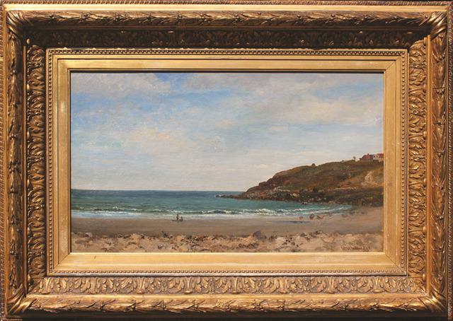 , 'Beach Scene,' ca. 1870, Andrea S. Keogh Art and Design