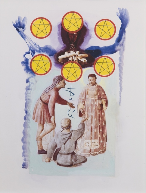 , 'Six of Pentacles, Minor Arcana,' 1971, Opera Gallery
