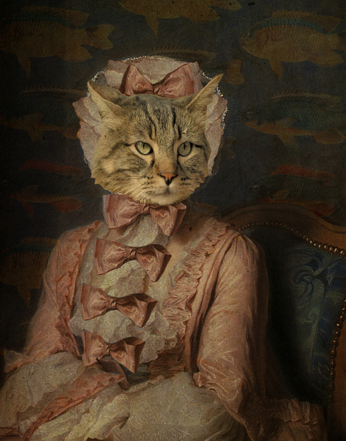 , 'Lady Cat,' 2019, Deep Space Gallery