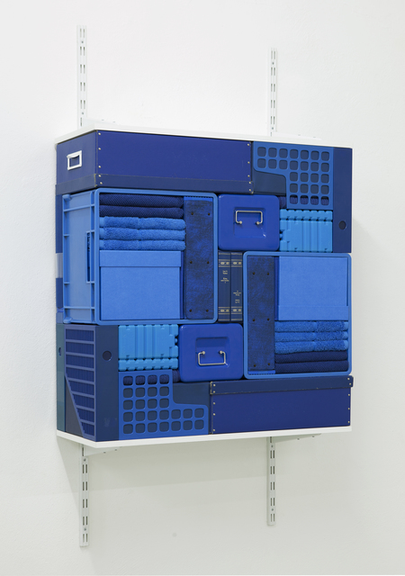 , 'Flip Shelf (blue) ,' 2018, The Flat - Massimo Carasi