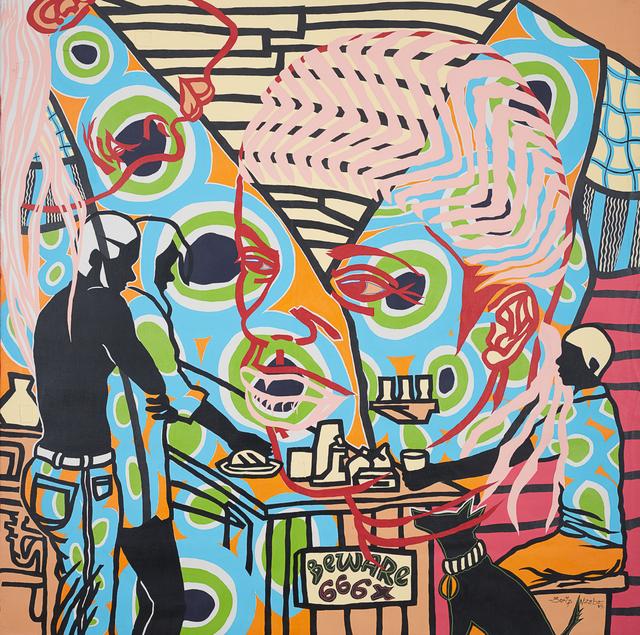 , 'Celle qui vient chez toi,' 2017, Jack Bell Gallery