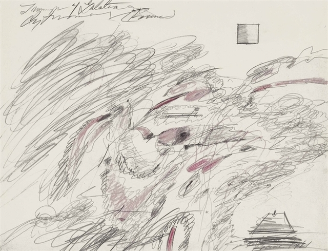 Cy Twombly, 'Triumph of Galatea', Christie's