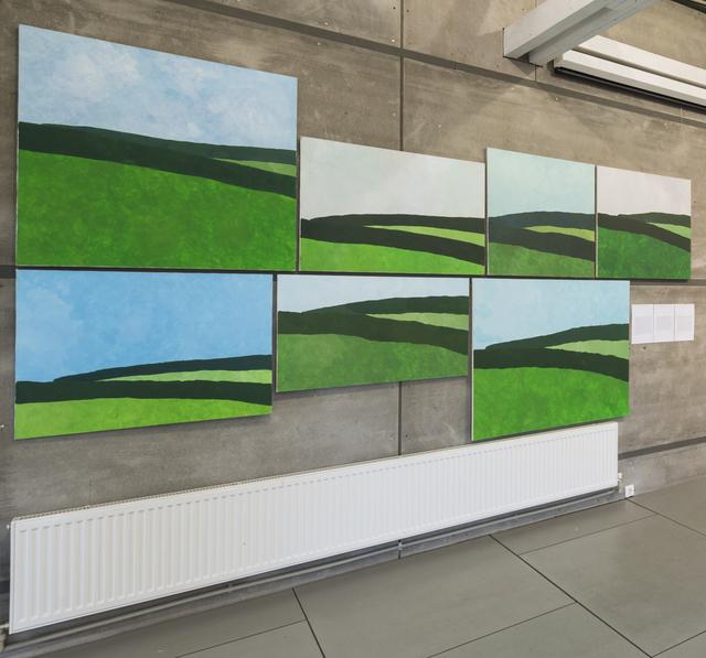 , 'June Landscape,' 2012, Gridchinhall