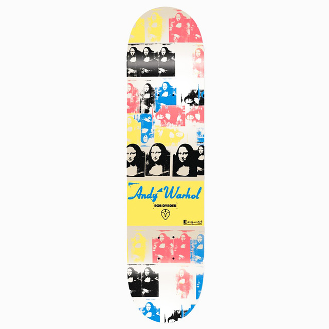Andy Warhol, 'Warhol Mona Lisa Skateboard Deck', ca. 2010, Lot 180