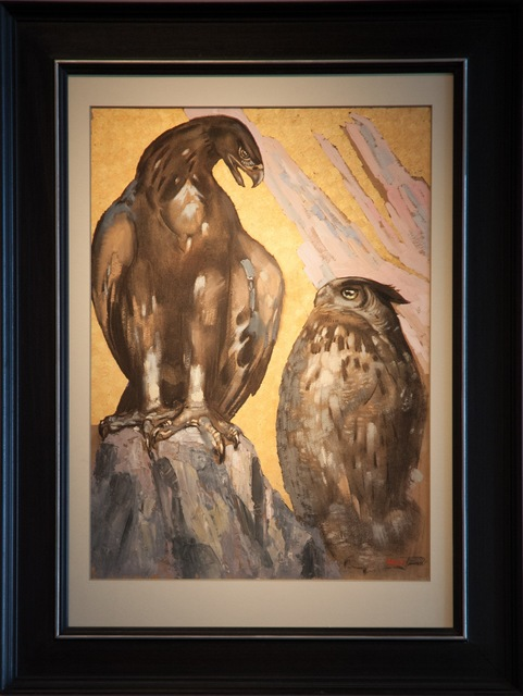 , 'Eagle and Owl Eagle,' , Galerie Dumonteil