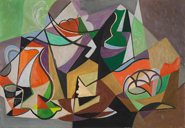 ", '""Le pot orange"",' ca. 1948, Jane Kahan Gallery"