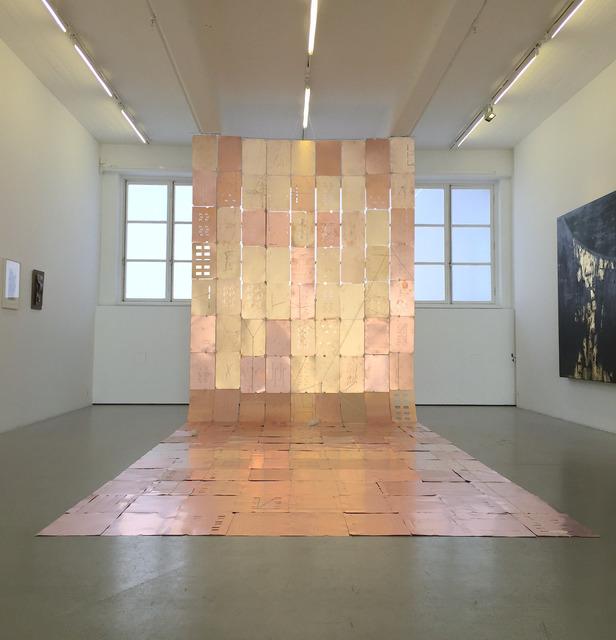 , 'Copper and Cotton III,' 2018, Andréhn-Schiptjenko