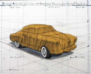 Wrapped Automobile (Project for 1950 Studebaker Champion Series 9G Coupe)
