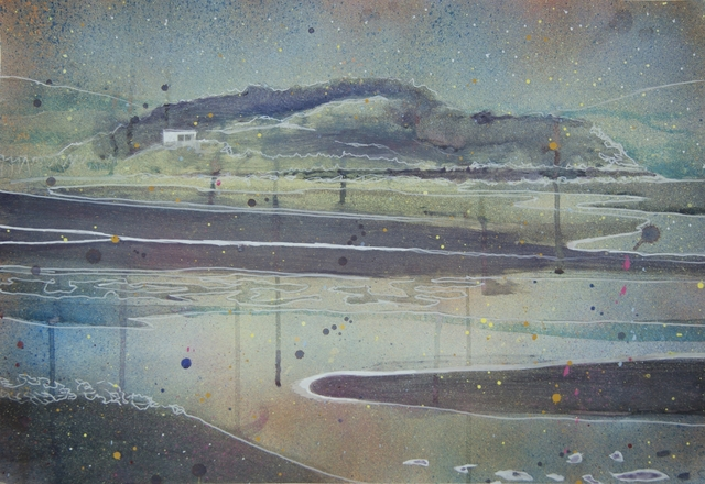 , 'Cramond Island Study,' 2017, Arusha Gallery
