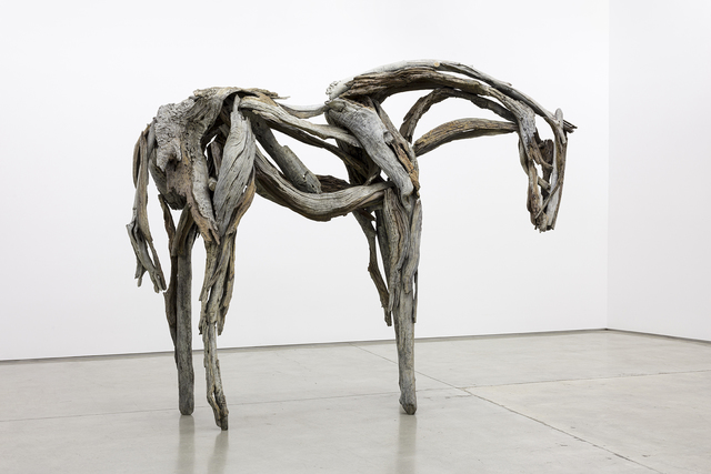 Deborah Butterfield, 'Sterling', 2005, Sculpture, Cast bronze, L.A. Louver