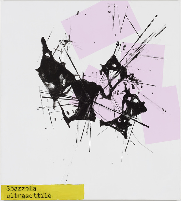 , 'Spazzola ultrasottile,' 2015, Galleri Susanne Ottesen