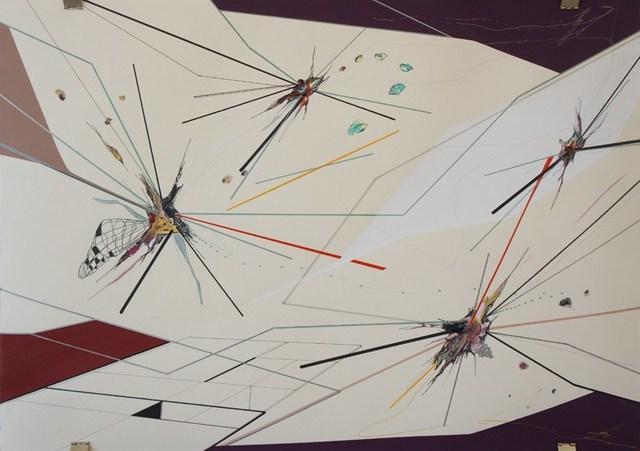 , 'MORPHO & DEBRIS, DRAWING IV,' 2013, saltfineart