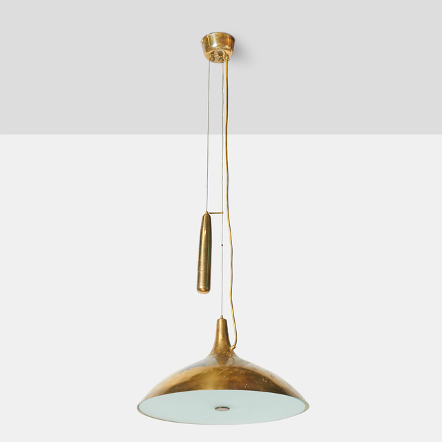 , 'Large Counter Weight Chandelier by Paavo Tynell,' 1950-1959, Almond & Co.