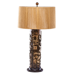 Contemporary Found Object Lamp