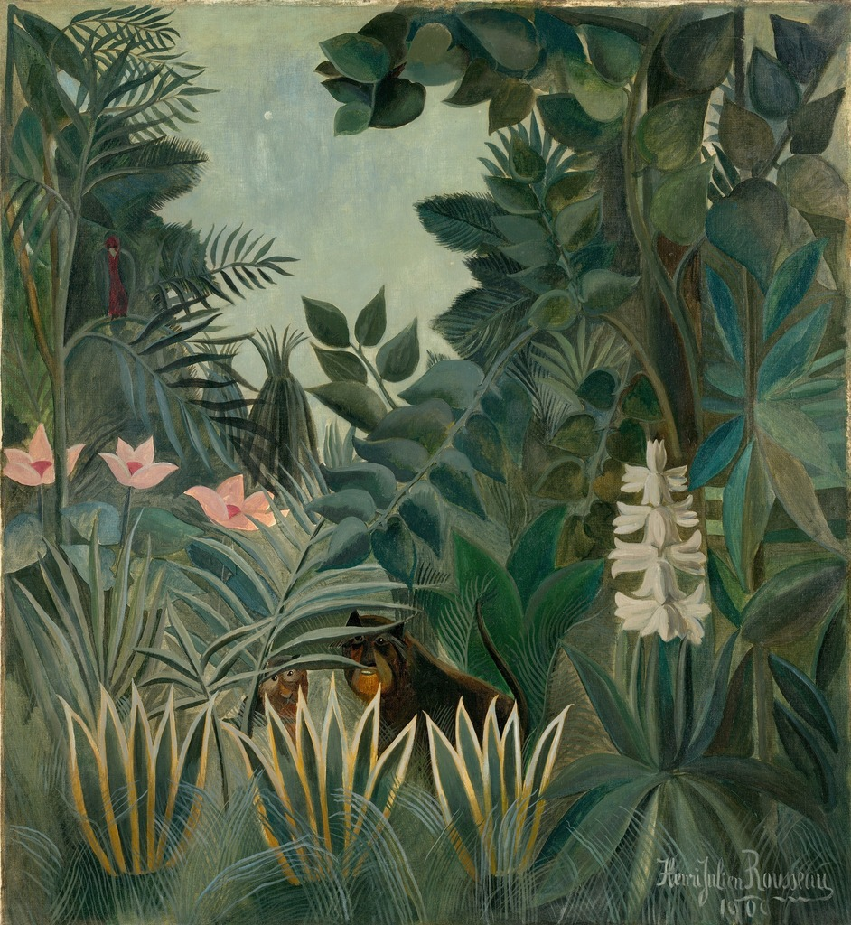 the life and work of rousseau His work has also been an inspiration for the henri rousseau was completely untrained in but spent most of his life in the profession of a customs.