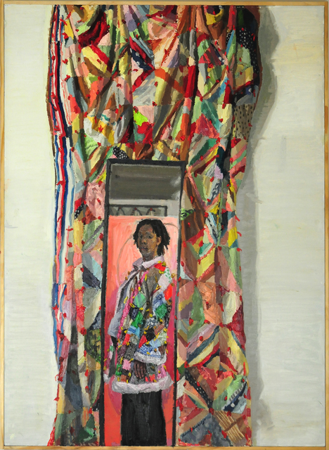 Sedrick Huckaby, 'She Wore Her Quilt', 2005-2008, Thomas French Fine Art