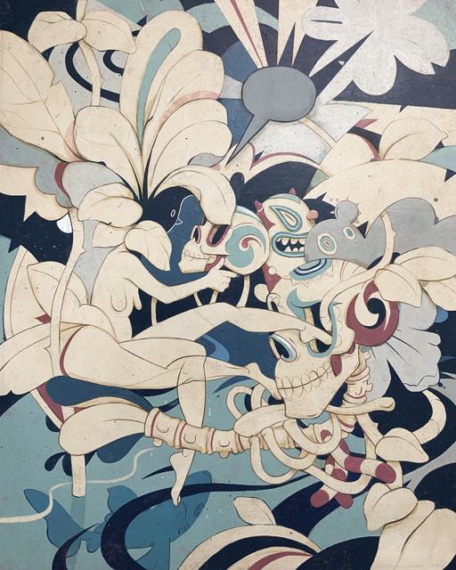 Eduardo Rubio, 'Azul I', 2019, Galeria Oscar Roman