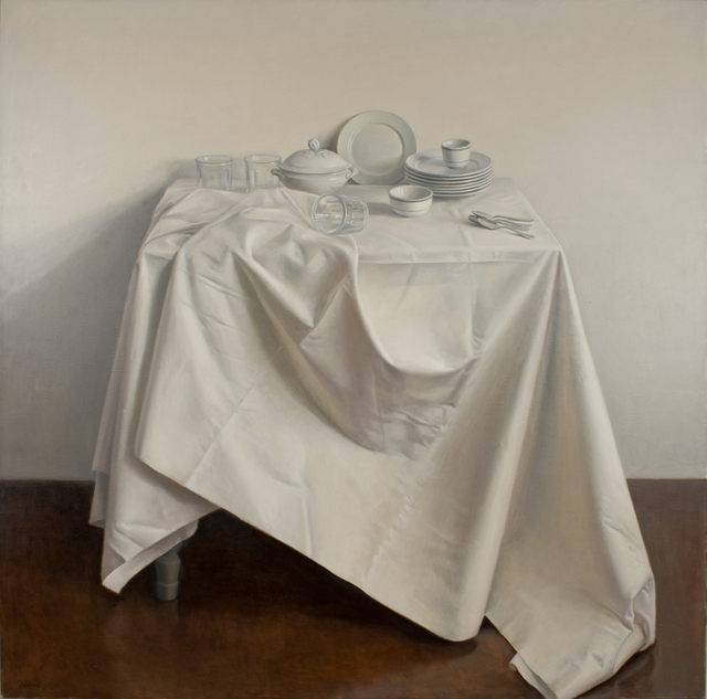 , 'Still Life with Draped Tablecloth,' 1981, Forum Gallery