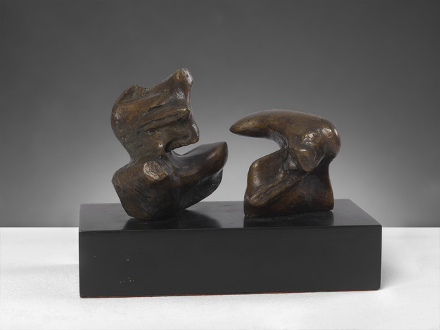 , 'Maquette for Two Piece Reclining Figure: Points,' 1969, Osborne Samuel