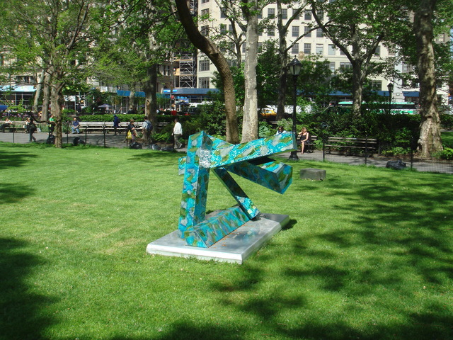 , 'Morning Assembly,' 2008, Madison Square Park