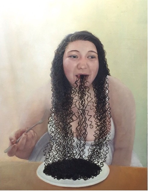 Hyemi Cho, 'Squid pasta', 2015, SEIZAN Gallery