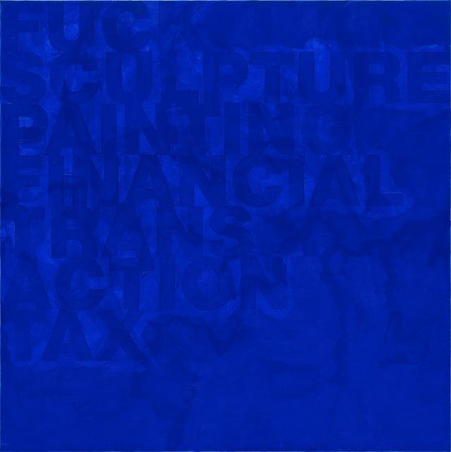 , 'Untitled (HZ 2012-021),' 2012, Galería Juana de Aizpuru