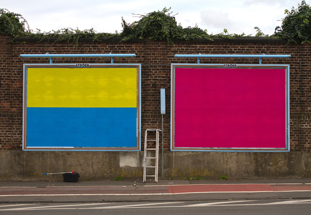 , 'Miami Billboard,' 2015, RaebervonStenglin