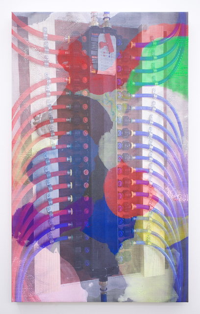 , 'Manifold Painting (Manifold #2),' 2017, Romer Young Gallery