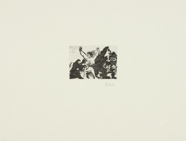 Pablo Picasso, 'Enlèvement, à pied, avec la Célestine (B. 1627; Ba. 1643)', 1968, Print, Sugar-lift aquatint, Sotheby's