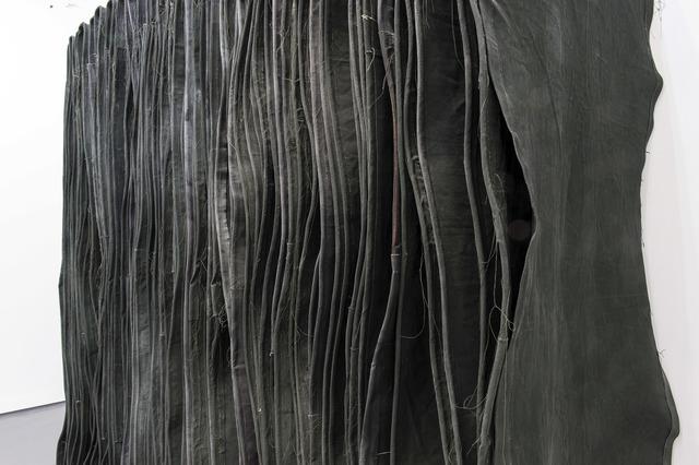 , 'Wallspine (Leaf) (Detail),' 2015, FOLD Gallery