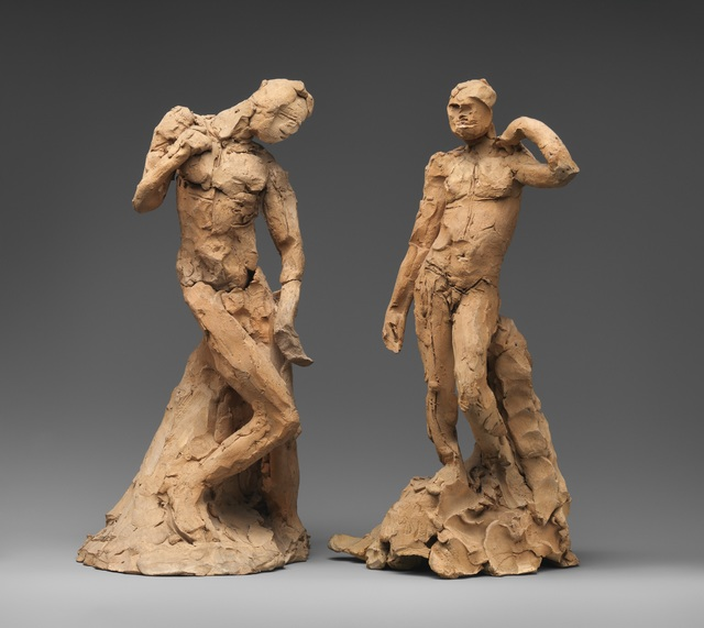 , 'Pair of Standing Nude Male Figures Demonstrating the Principles of Contrapposto according to Michelangelo and Phidias,' ca. 1911, The Metropolitan Museum of Art